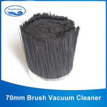 1m 70mm Brush Vacuum Cleaner Engraving machine Dust Cover Spindle fur brush for CNC Router for spindle motor(China)