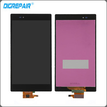 Black For Sony Xperia Z Ultra XL39h XL39 C6802 C6806 LCD Display touch screen with digitizer Assembly Replacement Free shipping