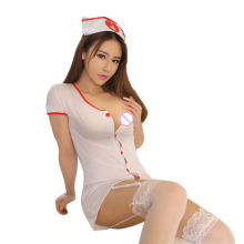 Buy New sexy nurse erotic costumes sexy maid lingerie sexy role play women erotic lingerie sexy underwear games cosplay uniform