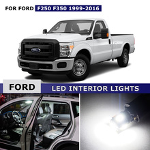 20X Canbus White Interior LED Lights Package Kit Map Dome Trunk License Light Lamp Door Lights For Ford F250 F-250 1999 - 2016(China)