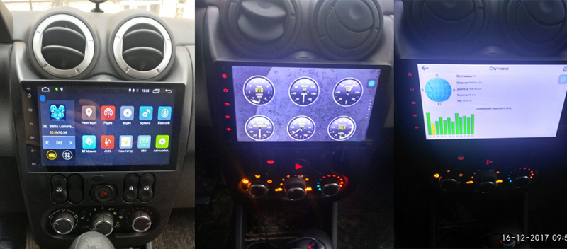 LADA LOGAN ANDROID NAVIGATION GPS RADIO