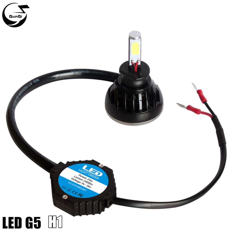1Set H1 Headlamp LED Lamp 40W 4000LM COB Bulb 6000K Front Headlight Auto Converstion Car Styling For BMW Mazda Volkswagen Toyota<br><br>Aliexpress