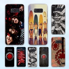 Red Hot Chili Peppers Rock band diseño Caso duro transparente para Samsung Galaxy S6 S7 S8 S8 borde Más s5 nota 5 4