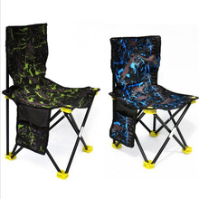 Portable Lightweight Foldable Cloth Outdoor Chair Fishing Chair For Paint From Life(China)