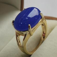 latest design jewelry lady's favorite  GP dark blue jades ring (7,8,9#)