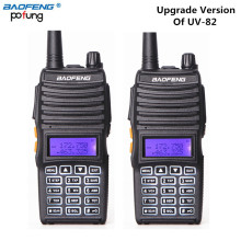 2 PCS Baofeng UV-82(II) True 8W High Power Walkie Talkie 8W/4W/1W Two Way Radio Transceiver (Upgraded Version of UV-82)