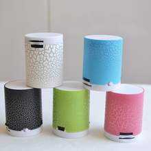 LED Portable Mini colorful Speakers Wireless Hands Free Speaker With TF Card USB Music Mobile Phone For iPhone 6 7 s