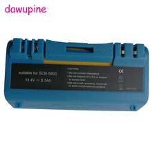 dawupine 14.4V 3.5Ah Ni-MH Battery For iRobot Scooba 330 340 34001 350 380 5800 5900 6000 Cleaner APS 14904 SP385-BAT SP5832