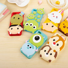 Fashion Lovely Cartoon Cheap Cell Phone Cases For iphone 5 5S Case Luxury Anti-Shock Soft Silicone Cover For iphone 5SE Coque(China)