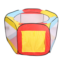 PlayhouseOutdoor Fun & Sports Kids Tent Folding Ball Pit Hideaway Tent Play Hut Tent for Kids