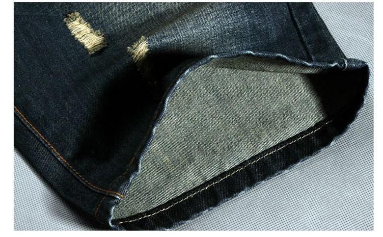 2017 Men Shorts Plus Size 38 New Brand Summer Men Jeans Shorts Fashion Designers Shorts Cotton Jeans Men\`s Slim Jeans Shorts5