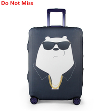 Do Not Miss New Cartoon travel Suitcase dust cover high quality Suitcase Elastic Protective Trunk Covers Trolley case Dust cover