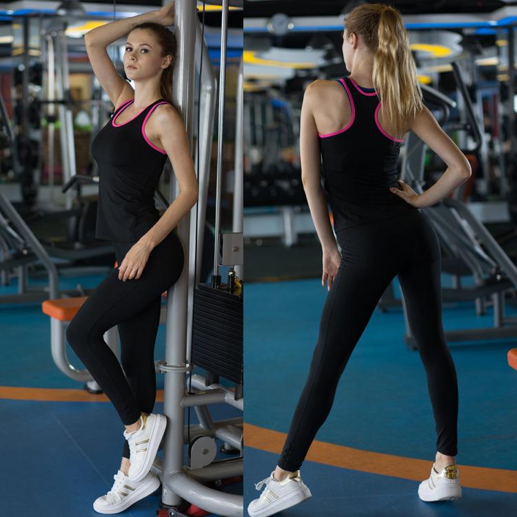 Seven Joe Yoga Tops women Sexy Gym Sports Vest Fitness Running tight Sleeveless shirt Quick Dry Fit Tank Top Yoga Wear clothing 5