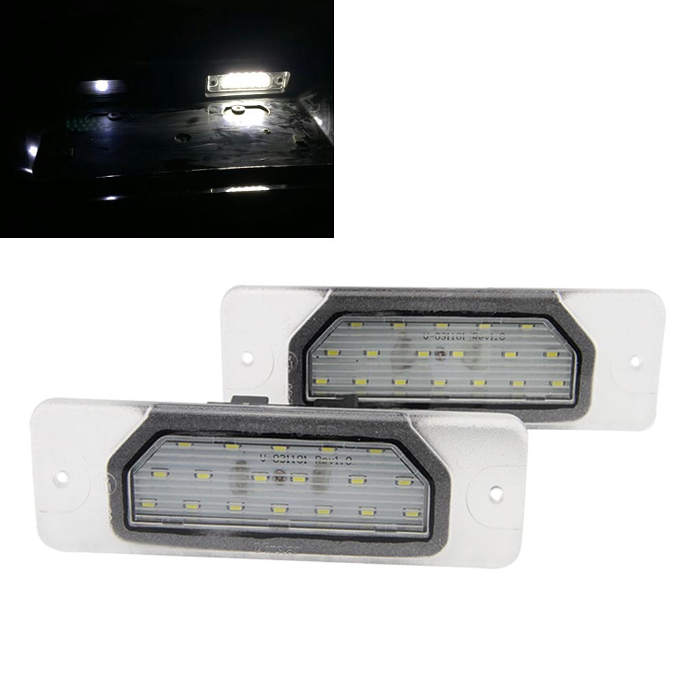 12V High brightness Automobile LED License Plate Lamp Number Plate Light for Nissan CEFIRO Fuga 7000K White Error Free free ship<br><br>Aliexpress