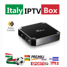 Super Italy IPTV  X96 mini Android 7.1 Smart TV BOX  Europe UK Germany IPTV Box 3000+LiveTV 20,000+VOD Hotclub Adult Channel
