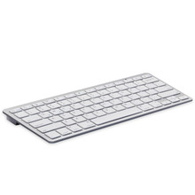 Universal Spanish Bluetooth Keyboard For Tablet Ultra-Slim Wireless Keyboard Keycap Bluetooth Keyboard for Mac Win XP 7 8(China)
