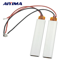 AIYIMA 2pcs Heater 100*21*5mm 220V High-power PTC Thermostat Heating Elements Ultra-low Temperature Heater Electric Plate(China)