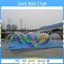 Good quality 2m Water Zorb Ball,Water Polo Ball,Inflatable Water Ball Water Walking Wall(China)