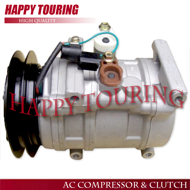 LY-EXCAVATOR -25SP21 AC COMPRESSOR for Hyundai mini bus for Suzuki truck A5000-672-001 A5000672001 AA8A161631A AA8A16-1631A