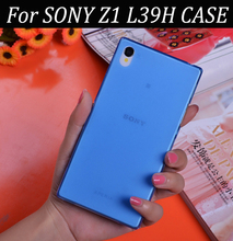 Perfect Design 10 Colors 0.3mm Ultra Thin Matte Soft Case Cover For Sony Xperia Z1 L39h Cell Phone Case Skin Shell Capa