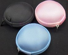 Pocket Hard Case Bag storge pouch for Earphones Headphones Earbud  Hot product !!