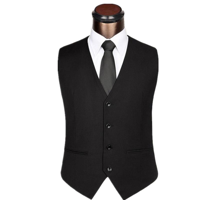 The new Men's British gentleman suit vest Slim orthodox fashion casual dress suit vest men vest size