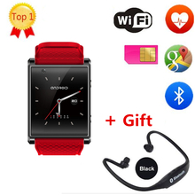 New Arrival IWO 3 W52 Bluetooth Smart Watch Android 5.1 ROM 4G support Sim card 3G Wifi GPS Camera 5.0 MP SIM Card Skype IOS