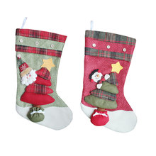 Lovely Christmas Gifts For Children Christmas Decoration Stockings Cute Candy Bag Christmas Tree Ornaments