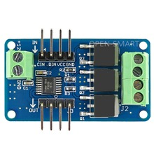 RGB LED Strip Driver Module Full-Color RGB Strip Controller Board Can be Cascaded for Arduino