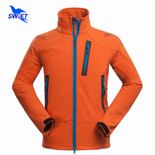 Waterproof Windproof Thermal Tech Fleece Hiking Jackets Men 2016 Outdoor Softshell Jacket Outdoor Climbing Fishing Ski Clothing