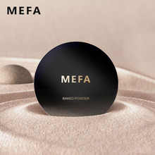 MEFA Face Base Powder Foundation Texture Smooth Matte Face Makeup Use By Wet Or Dry Brighten ConcealerFace Press Powder Makeup(China)