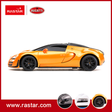 Rastar licensed 1:24 Bugatti Grand Sport Vitesse Wired Remote Control Injection Moulded Body Differential RC Car 47000(China)