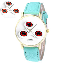 Women Mens Quartz Watches Retro Design Leather Band Analog Alloy Quartz Wrist Watch Hot Marketing Wholesale 40M26(China)