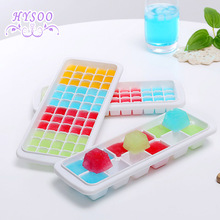 Self - made ice cubes molds refrigerators ice packs ice lattice creative home made of ice cubes box