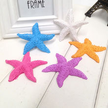 Best Selling Random color 1Pcs Mini Crafts Decorations For Micro Landscape Home Decor Resin Starfish Wholesale(China)