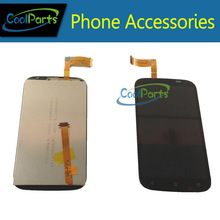 High Quality Black color For HTC Desire X T328E LCD Display and Touch Screen Digitizer Assembly 1PC/Lot