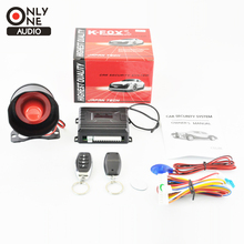 ONLY ONE AUDIO Universal Car Alarm Security System  with multifunctional function 2 Remote Control