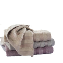 Bamboo towel striped towel 34*76cm 3PCS/LOT face cloth towel hand cleaner towels