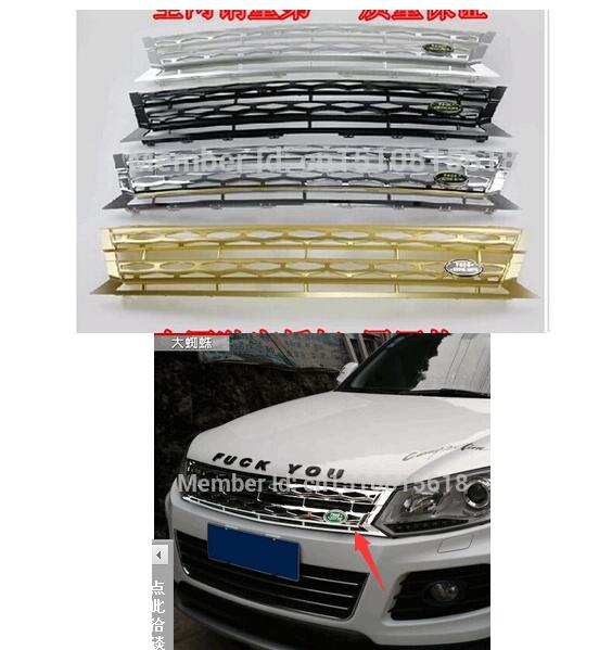 Car front bumper Mesh Grille Around Trim Racing Grills for Zotye T600 TOP Quality Stainless steel <br><br>Aliexpress