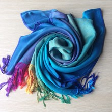 2Color Free Shipping New Fashion Winter Pashmina Women Long Scarf Wrap Shawl Scarves(China)