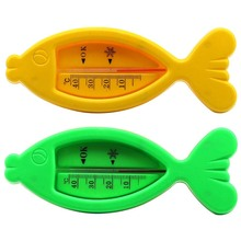 Buy 2Pcs Water Thermometers Baby Bath Tub Water Sensor Thermometer Baby Bath Accessory 15cm Fish Bear Shape for $2.83 in AliExpress store