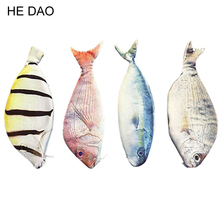 1 Pcs Fashion Fish Shaped Pencil Bags Pencil Case Originality School Creative Gifts Pencils Box