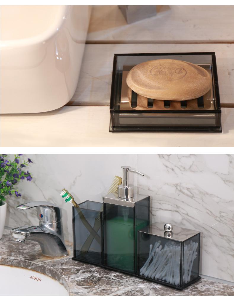 2018 Anho Crystal Glass Bathroom Set European Style Bathroom ...