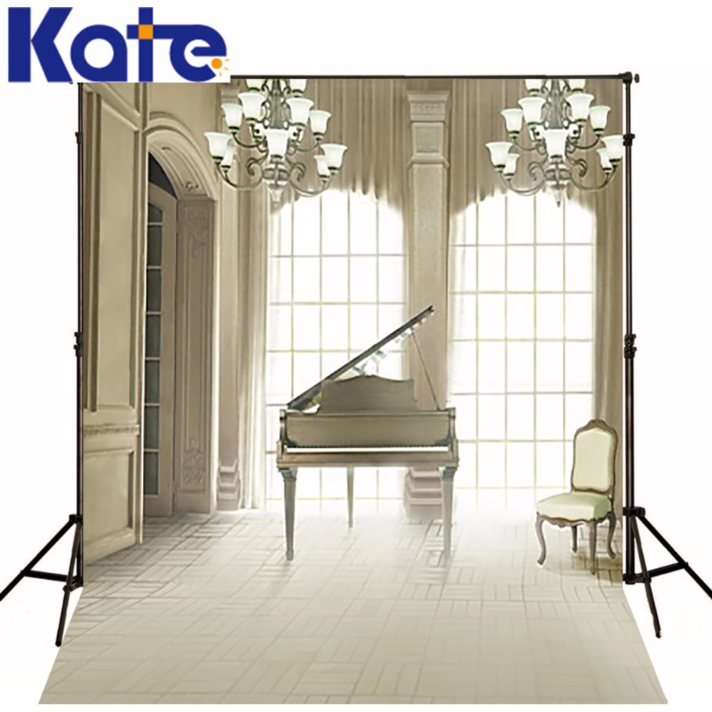 5Feet*6.5Feet Background Piano Music Photography Backdropsthick Cloth Photography Backdrop 3251 Lk<br>