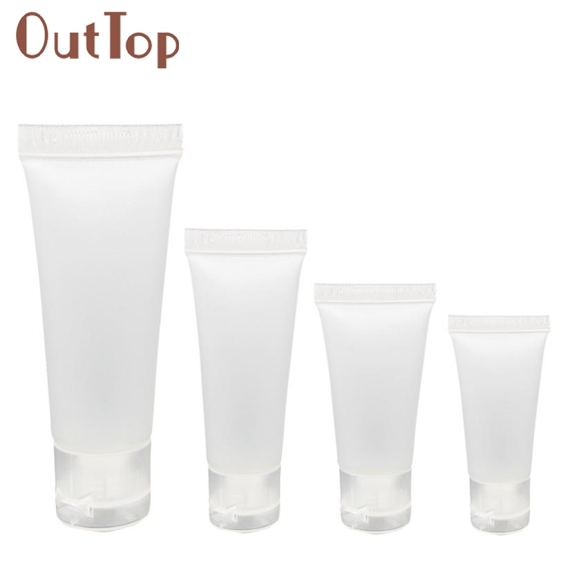 #20 Travel Bag Empty Clear Tube Cosmetic Cream Lotion Containers Refillable Bottles 20ml/ 30ml/ 50ml/ 100ml For Choice JAN16<br><br>Aliexpress