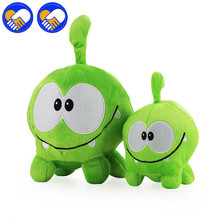 A TOY A DREAM Cute 20-30cm om nom frog plush toys cut the rope Soft Plush cut the rope figure classic toys game lovely Xmas gift(China)