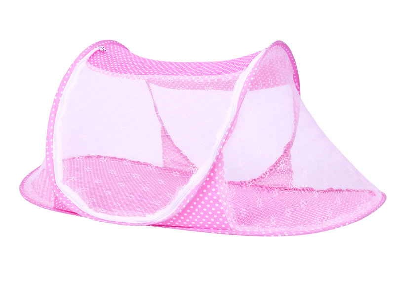 Infant Baby Bedding Crib Mosquito Net For Baby portable Mosquito Mesh Netting Toddler Cots fodable Summer Mosquito Nets Insect (7)
