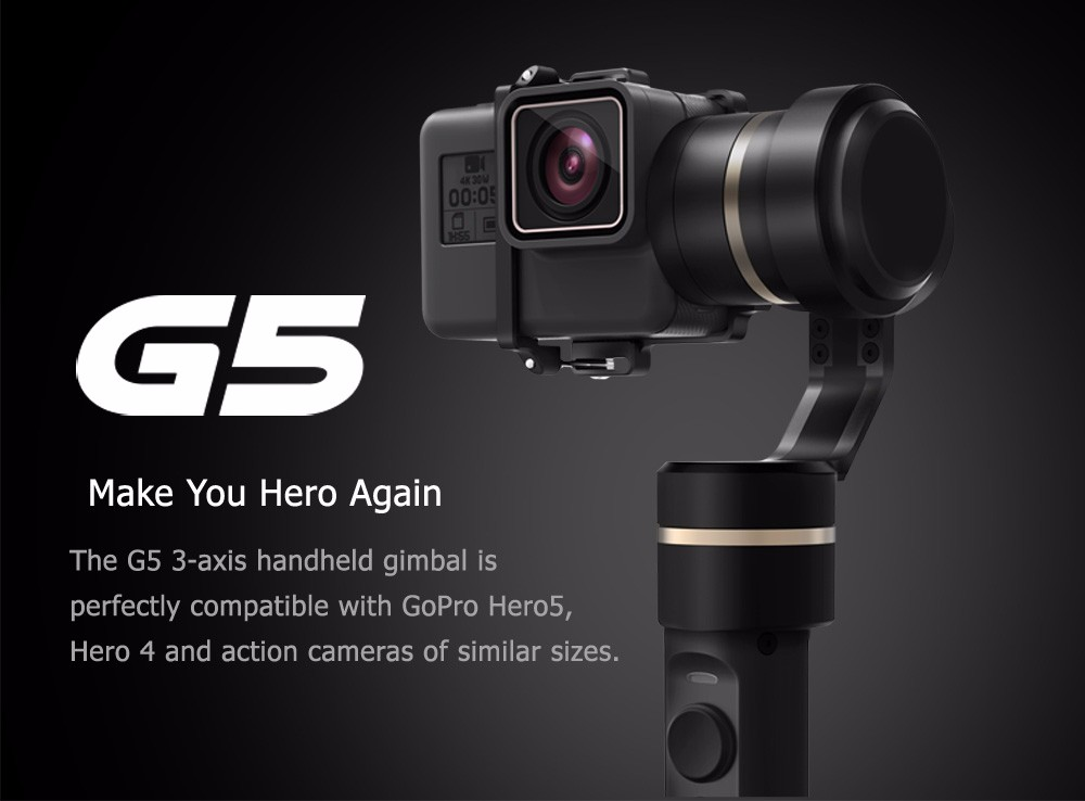 FeiyuTech Feiyu G5 Splash Proof waterproof 3-Axis Handheld Action Camera Gimbal For GoPro HERO 6 5 4 3 3+ Xiaomi yi 4k SJ AEE 6