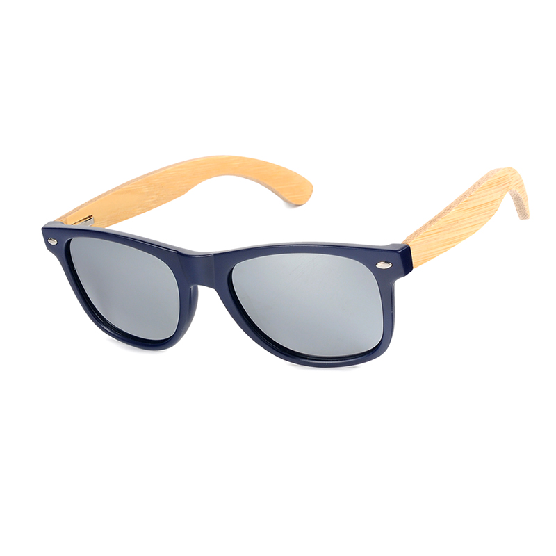 Deep Blue Plastic Polarized sunglasses women and mens (21)
