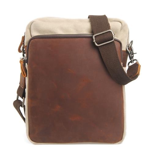 Hot Sale Fashion Mens New Arrivals Messenger Bags Casual Canvas Zipper Shoulder Diagonal Bag<br><br>Aliexpress